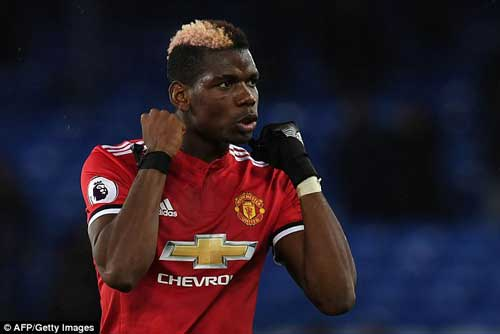 Paul Pogba grew into the game to deliver a real captain's display in the second half at Everton with two goal assists.