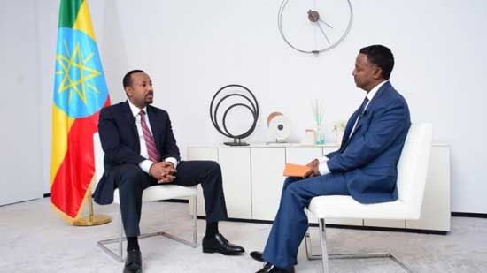 Ethiopian Prime Minister Abiy Ahmed he gave his first interview to a Western news organization in late May, when he spoke to the Voice of America's Horn of Africa service reporter Eskinder Firew, in Addis Ababa in Amharic.