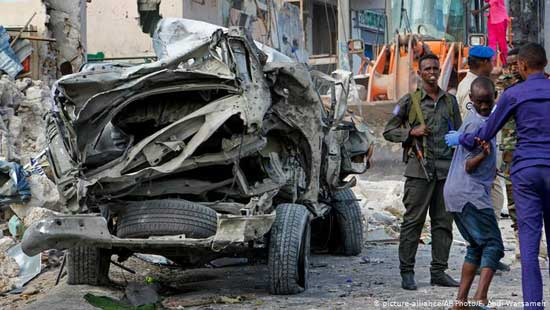 Somali civilians, Kenyan police officers killed in blasts. Image credit - DW
