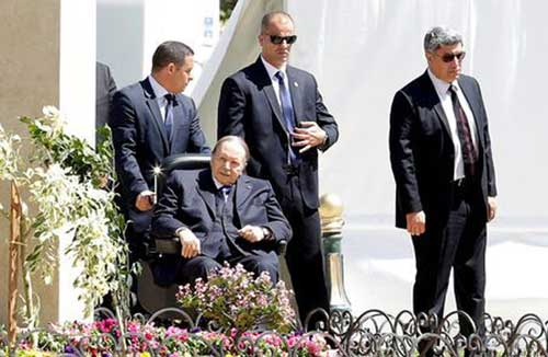 File image: Algerian President Abdelaziz Bouteflika is seen in Algiers