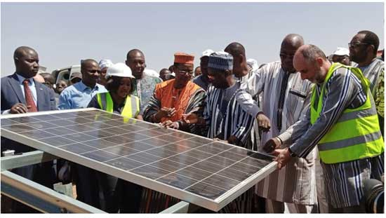 First green energy project in Burkina Faso for Private Infrastructure Development Group (PIDG) company Emerging Africa Infrastructure Fund. EAIF image