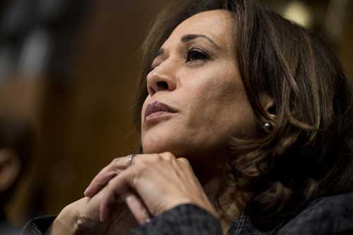 "Kamala Harris, D-Calif., confirmed her candidacy during an appearance on ABC's ""Good Morning America."" File Photo By Tom Williams/UPI 