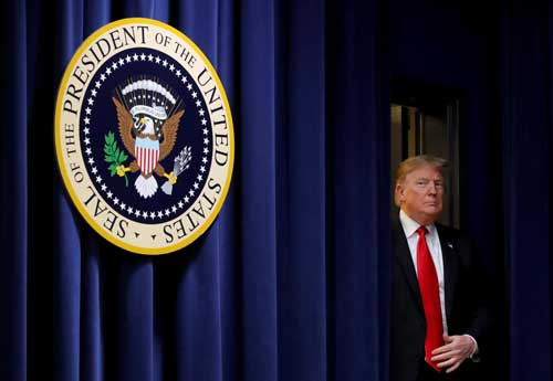 Syria, Mattis, Afghanistan, shutdown: Trump ends year in chaos. Reuters photo