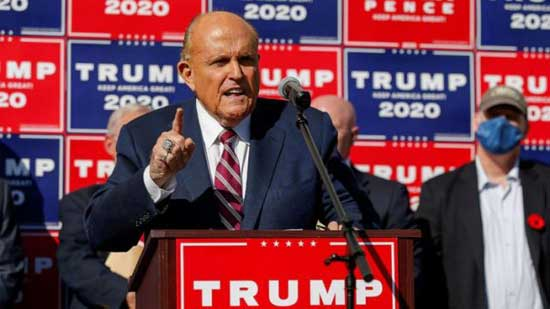 President Trump taps Rudy Giuliani to take over election legal fight: Sources