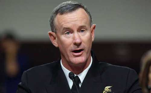 Former commander who oversaw Bin Laden raid, William H. McRaven, asks Trump to revoke his security clearance. Image credit - news wires