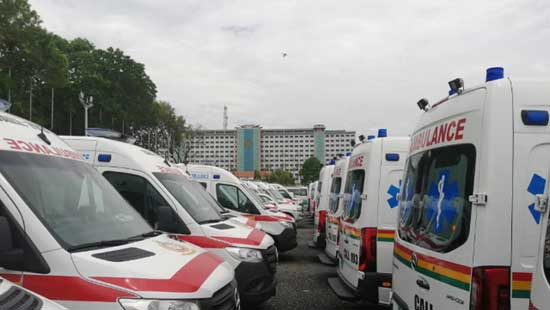 Ghanaians Will Not Be Spectators Of Parked Ambulances
