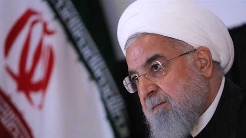 File image - President Hassan Rouhani