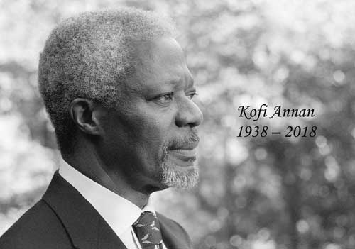 Kofi Annan, Former UN Secretary-General Passes Away