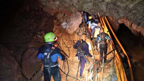 Thai cave rescue ends, all 12 boys, football coach emerge safe after two-week ordeal