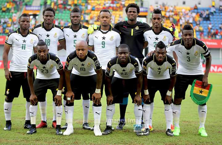 File image - 2019 AFCON draw: Ghana face Cameroun, Benin, G-Bissau