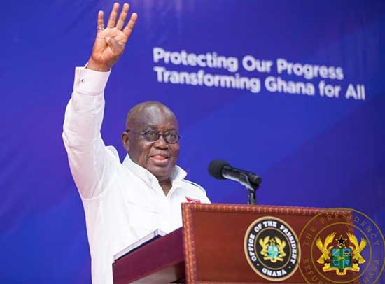 Full Address: President Akufo-Addo's speech at the launch of the NPP 2020 Manifesto