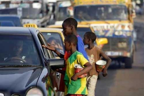 Concerted efforts to end begging for alms by children. Image credit - gbcghana
