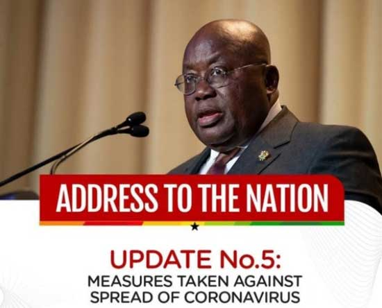 President Akufo-Addo Provides Update On Ghana's Enhanced Response To COVID-19
