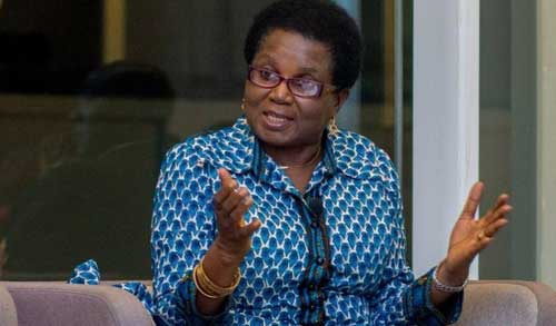The writer, Elizabeth Ohene