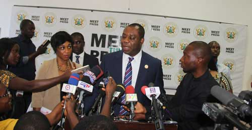 Dr. Matthew Opoku Prempeh, Minister of Education. File Image