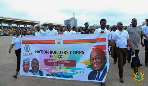 Address By President Akufo-Addo At The Passing Out Ceremony For 100,000 Nation Builders Corps Trainees