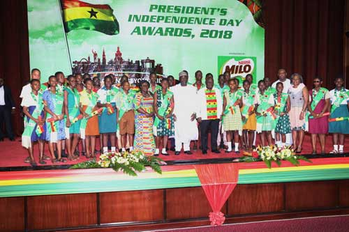 The President's Independence Day award and matters arising