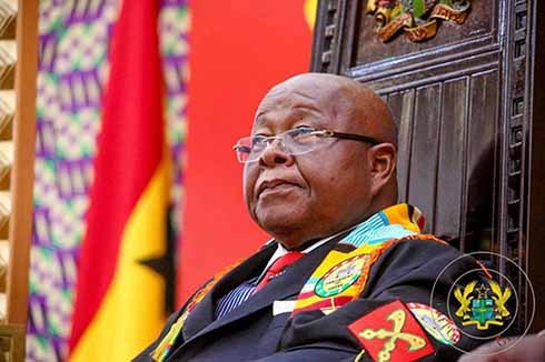 File image - Speaker of Parliament, Professor Aaron Mike Oquaye