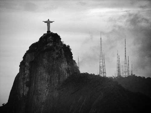Christ the Redeemer stands high on Corcovado mountain | ©Diego Torres Silvestre/Flickr