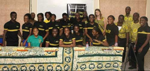 Tema International School (TIS) Amnesty Club.