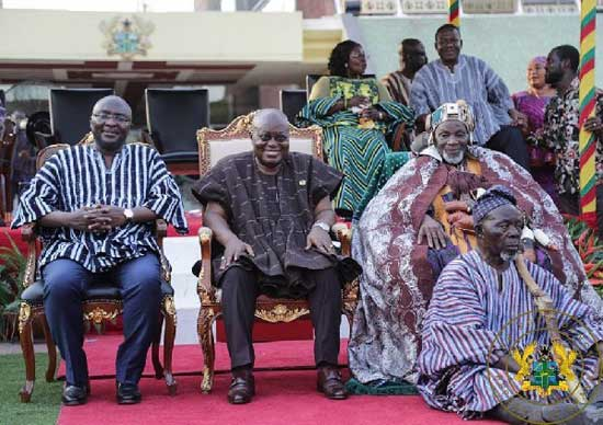 Historic Visit Of Overlord Of Dagbon To Jubilee House