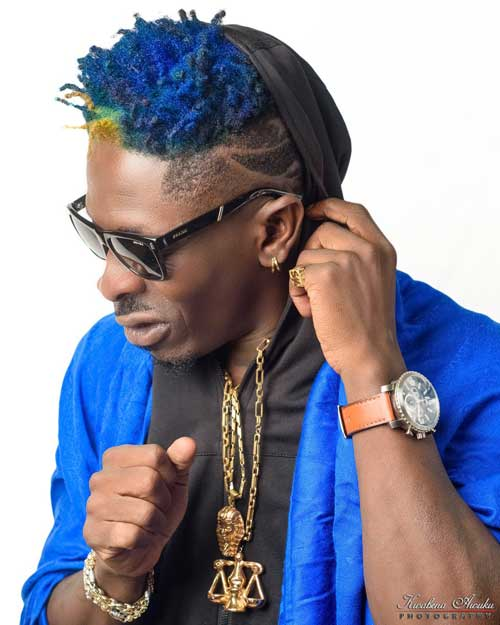 File image - Charles Nii Armah Mensah, also known as Shatta Wale.
