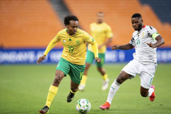 Ghana qualifies for AFCON despite draw against South Africa