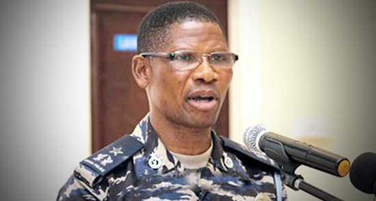 Assistant Commissioner of Police (ACP) Dr Benjamin Agordzo. File image