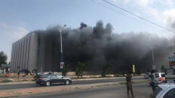 Video: Fire guts GRA head office annex in Accra
