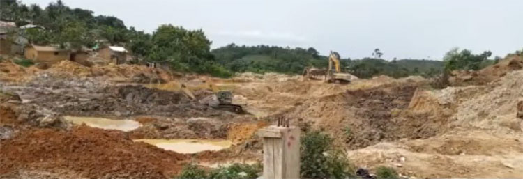 Upsurge in galamsey activities threaten Nkroful Agricultural SHS and surrounding areas