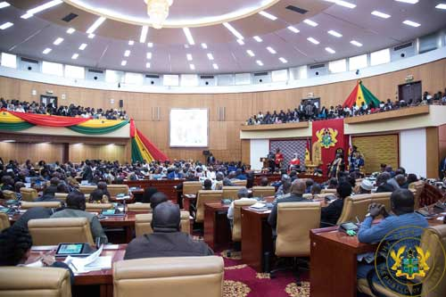 Parliament drops new chamber project