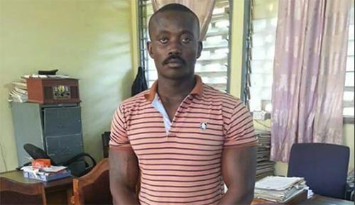 Kwadwo Bamba, alleged leader and organizer of the 'Delta Force' that stormed the offices of the Ashanti Regional Security Coordinator.