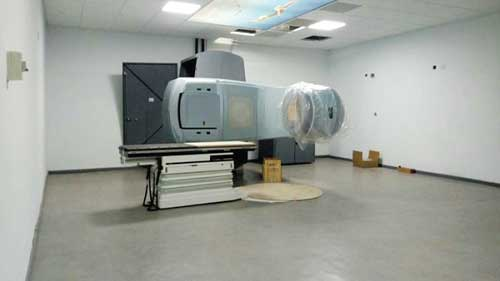 The linear accelerator machine at the Komfo Anokye Teaching Hospital
