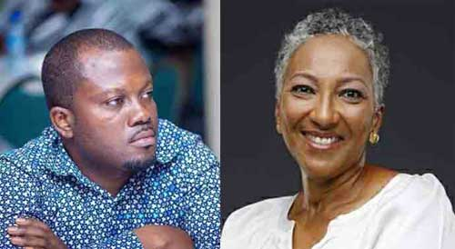 Maximus Amertogoh and Sarah Owen Asafu-Adjaye are praying the court to prevent the Ministry of Communications and other defendants from allowing a third party, Kelni GVG, to have access to their private data. Image - grahiccomgh