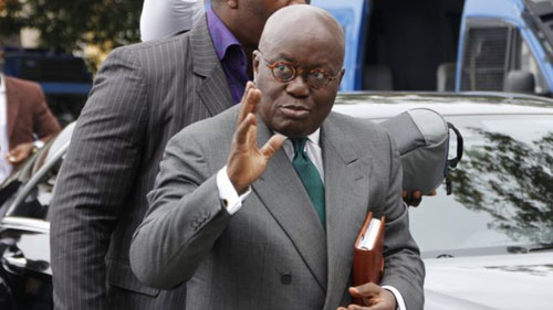 President Akufo-Addo - Under public scrutiny for appointing 110 ministers.