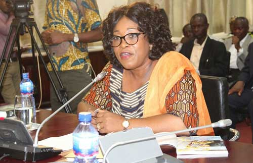 Minister of Foreign Affairs and Regional Integration, Ms Shirley Ayorkor Botchway