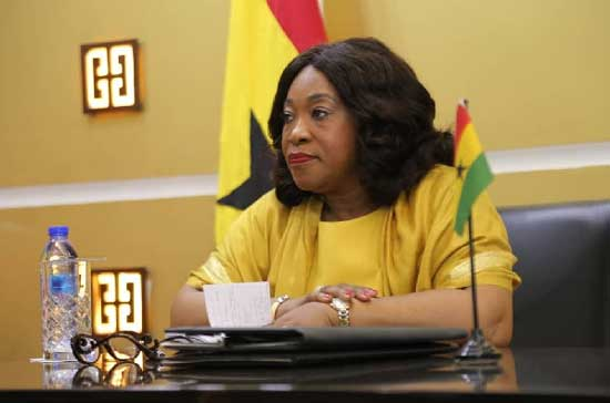 Ghana's Minister of Foreign Affairs and Regional Integration, Ms Shirley Ayorkor Botchwey