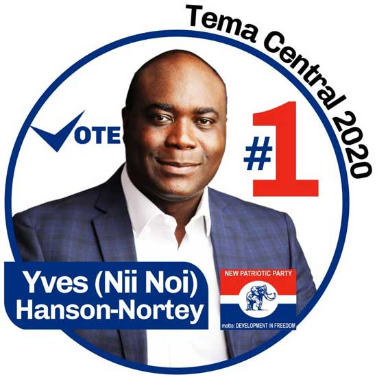 Hard work pays in the NPP - Yves Hanson-Nortey