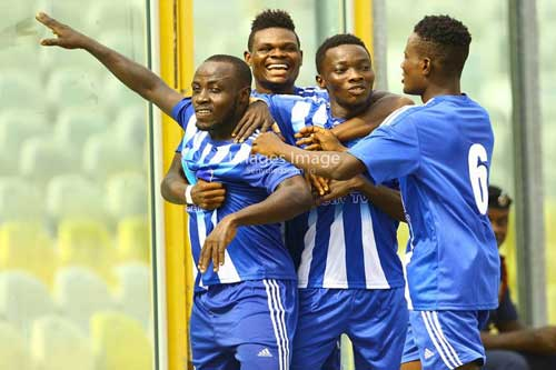 GN Bank DOL Week 03 Preview: Pressure mounts on Gt. Olympics to win, Gold Stars eye third straight win as Bofoakwa and Salamina look to make gains. File image - Gt. Olympics