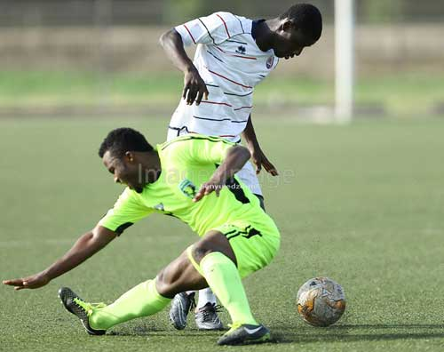 Inter Allies and Bechem Utd kicked of the new GPL season on Saturday 17th March, 2018, at the Tema Sports Stadium. Image courtesy of S. A. Adadevoh/@images_image.
