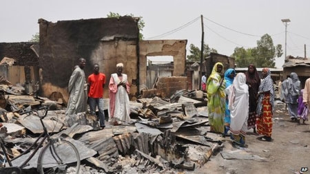 Boko Haram has torched many towns and villages in northern Nigeria