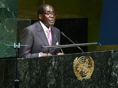 """Evil machinations"" - Zimbabwe's president criticises the policies of the European Union and United States"