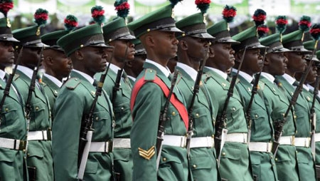 Muhammadu Buhari has sworn in a new set of military chiefs, ordering them to end Boko Haram's bloody six-year carnage