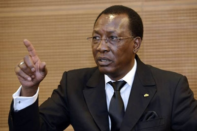 Chad president claims Boko Haram 'decapitated'