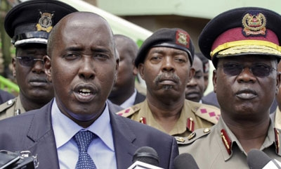 Kenya's interior minister Joseph Ole-Lenku was fired and police chief General David Kimaiyo quit after an attack by Islamist extremists