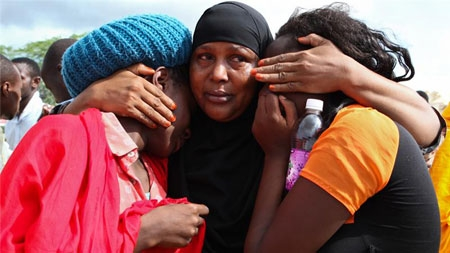 Survivors recounted how the gunmen from Somalia's Shebab fighters taunted students before killing them [EPA]
