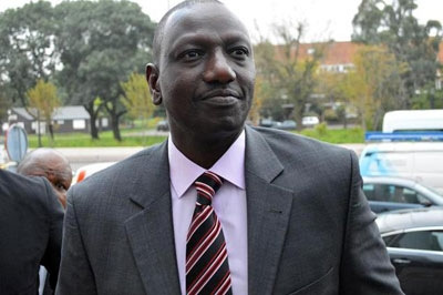 ICC drops charges against Kenyan vice-president Ruto